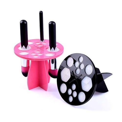 Practical Brush Drying Dryer Organizer Hanger Holder Makeup Cosmetic Stand Rack