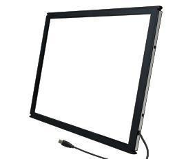 32 inch IR Touch Screen Panel Overlay without glass / Real 2 Points interactive touch screen frame with high precision