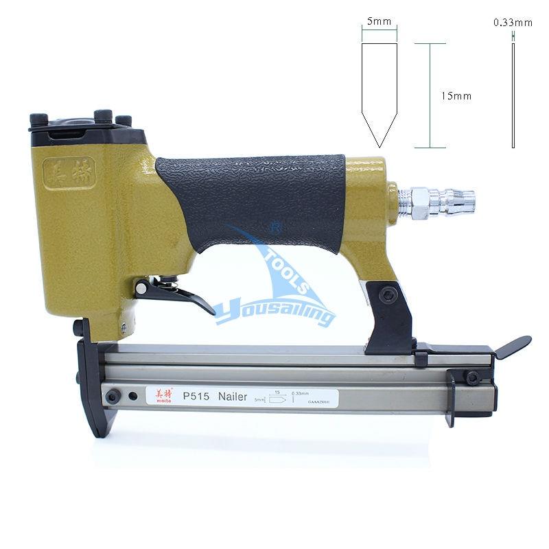 high quality pneumatic nailer gun flexible points air stapler nail gun tools for photo frame p515 for flexible points
