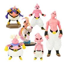 6 estilos dragon ball z buu figura brinquedo dx dxf gordura magro majin boo anime dbz collectible modelo bonecas