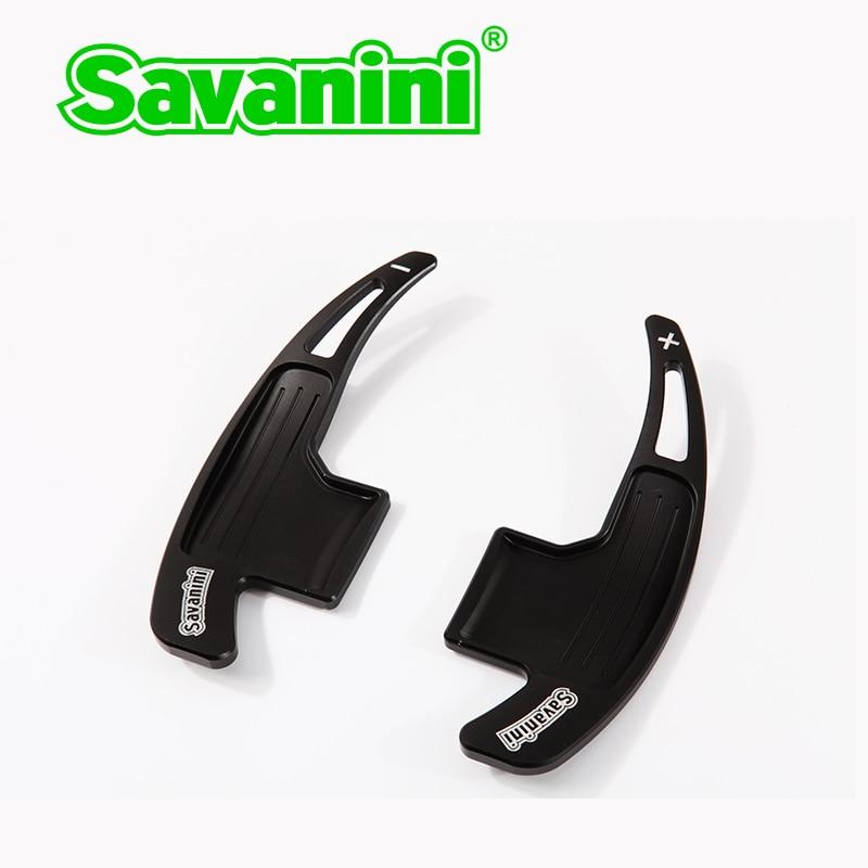 Savanini 2pcs Αλουμινένιο τιμόνι αλλαγής - Ανταλλακτικά αυτοκινήτων - Φωτογραφία 5