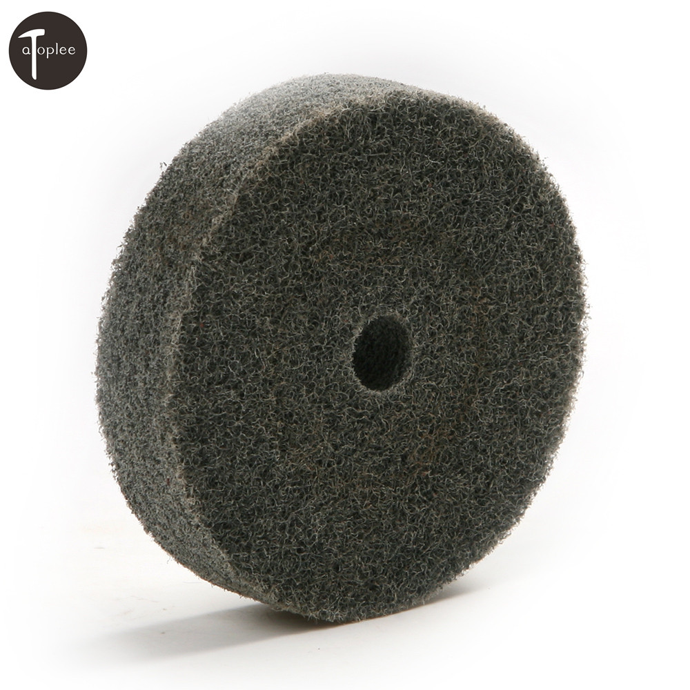 1PCS 75mm Outer Diameter Gray Fiber Grinding Wheel For Polishing Grinding Of Metals Ceramics Marble Polished Wood Crafts