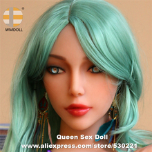 WMDOLL Top Quality #262 Silicon Love Doll Head For Japanese Realistic Sex Dolls TPE Heads With Oral Sexy For Body 140cm To 170cm