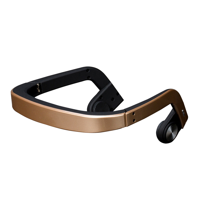 Bluetooth Headset Wireless Headphones Earphone Bone Conduction For Sport Outdoor BR-19ING