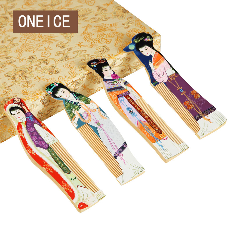 ONEICE Comb Chinese Wind Characteristics Crafts Business Gifts Foreign Affairs Abroad Gift To Send Foreigners Four AmericansONEICE Comb Chinese Wind Characteristics Crafts Business Gifts Foreign Affairs Abroad Gift To Send Foreigners Four Americans