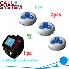 Wireless Restaurant Call Calling Waiter Server Paging Service System K-300PLUS K-O3