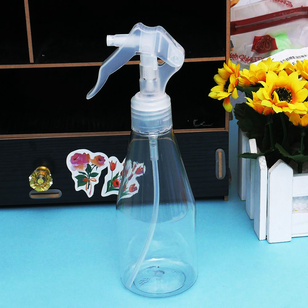 200ML Portable Plastic Spray Bottle Transparent Makeup Moisture Atomizer Pot Fine Mist Sprayer Bottles Hair Hairdressing Tools футболка женская carhartt wip carrie yale ash heather