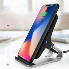 Vogek 10W Vertical Wireless Charger for iPhone XR XS Max Samsung Wirel