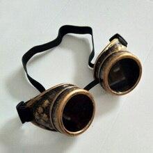 Винтажные викторианские защитные очки в стиле стимпанк Сварка кибер панк готика Косплей* 1