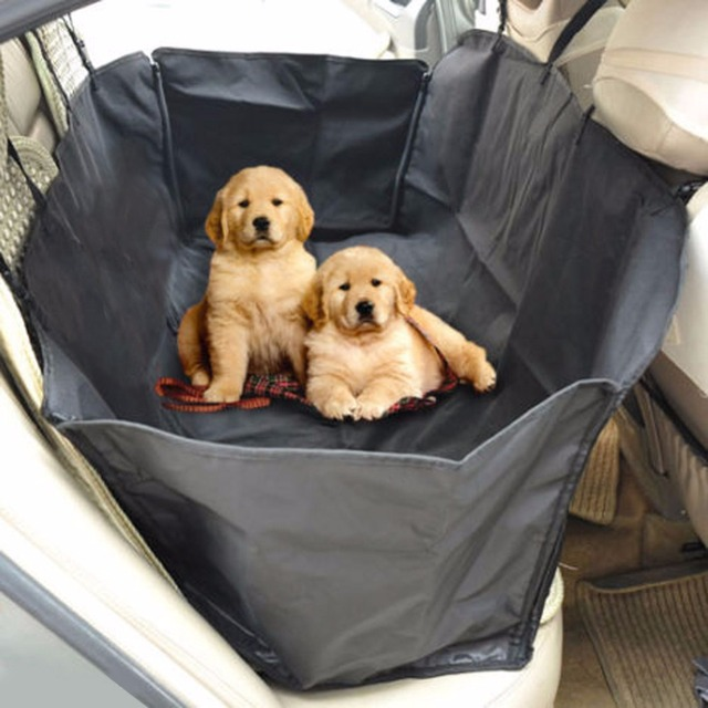 Waterproof Pet  Car Seat Cover for Rear Bench