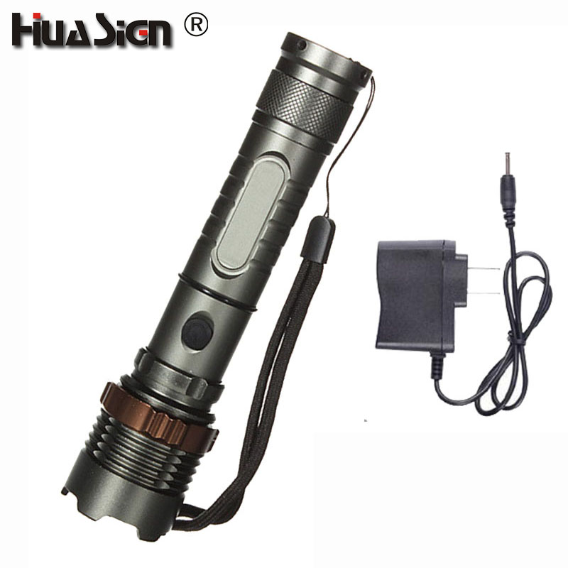 XML-T6 Ultra Bright 5 Modes Zoomable 3800LM LED Flashlight Lotus Attack Head Waterproof Torch Lantern for Outdoor a101 1600lm xml t6 5 mode ultra bright powerful flashlight led flashlight zoomable lantern 2x18650 batteries and changer
