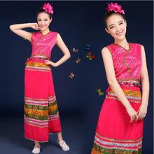 New arrival Classical female dance costume traditional national The Dai performance dress clothes Chinese folk