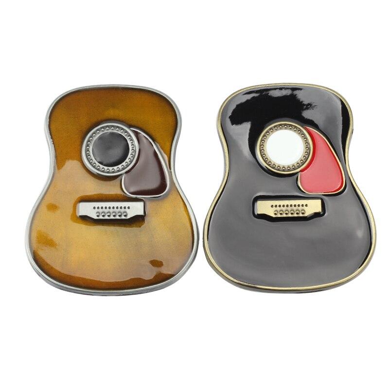 Cowboy Belt Buckles Accessories Tool Diy Luxury Classic Guital Music Metal Buckle Belt