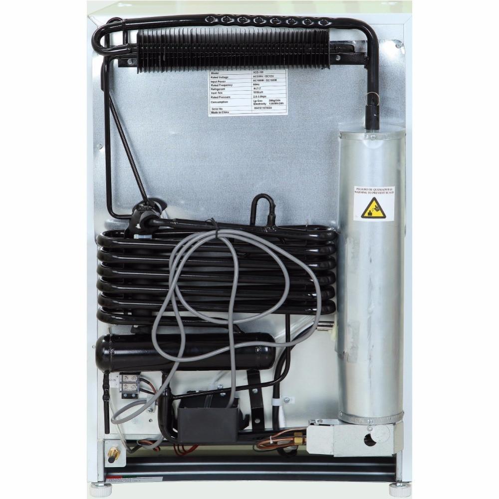 Smad 3,4 cu ft 12 V 110 V LP Gas Kühlschrank Gefrierschrank ...