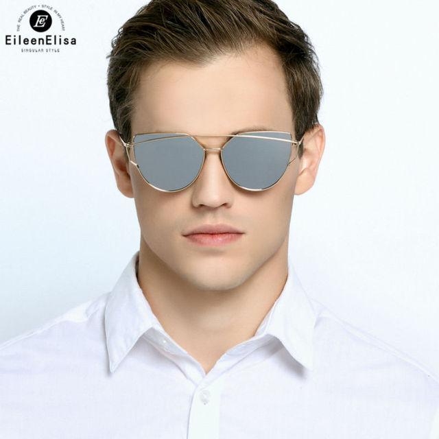 EE Óculos De Sol Dos Homens Das Mulheres Designer De Marca de Alta Qualidade Revestimento de Espelho Lens UV400 Oculos de sol Masculino Óculos de Sol dos homens
