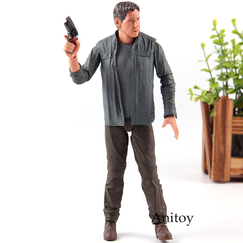NECA Blade Runner 2049 Deckard Harrison Ford PVC Blade Runner Figure Action Collection Model Toys runner