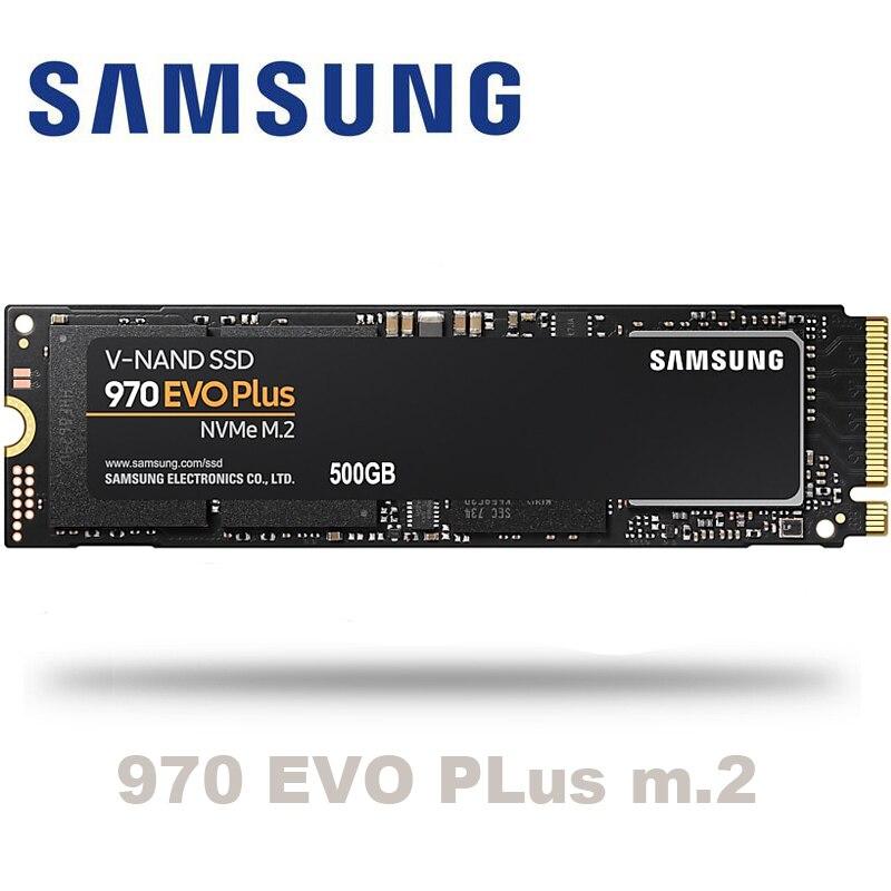 Samsung 970 evo plus M.2 SSD 250GB 500GB 1TB nvme pcie Internal Solid State Disk HDD Hard Drive inch Laptop Desktop TLC PC Disk(China)
