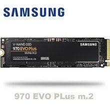 Samsung 970 evo plus m.2 ssd 250gb 500gb 1tb nvme pcie disco de estado sólido interno hdd disco rígido polegada computador portátil desktop mlc disco