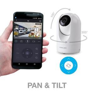 Image 4 - Foscam R4M 4MP סופר HD WiFi מצלמה 2.4G/5G Wifi בית פאן/להטות וידאו מעקב אבטחת IP מצלמה