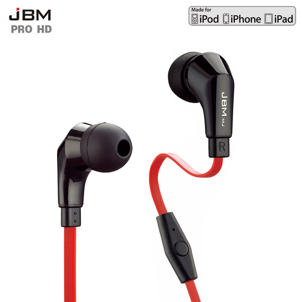 JBM MJ720 Stereo Earphones 3.5MM In-Ear Headphones Super Bass Headset Handsfree With MIC for iPhone Samsung Smart Phone