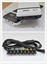 Fuente de alimentación móvil, seis, 18650, 15600mah, cargador de batería, Banco de energía + 8pcs, conector F, portátil, Notebook, iphone, envío gratis