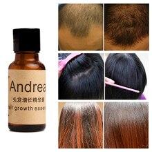 Эссенция для роста волос Andrea, жидкость для выпадения волос, 20 мл, густые волосы, быстрая Эссенция от облысения, от выпадения волос, жидкий имбирный шампунь