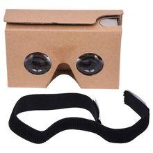 Top Deals For Google Cardboard V2 3D Glasses VR Valencia Fit 6Inch Smartphone+Headband