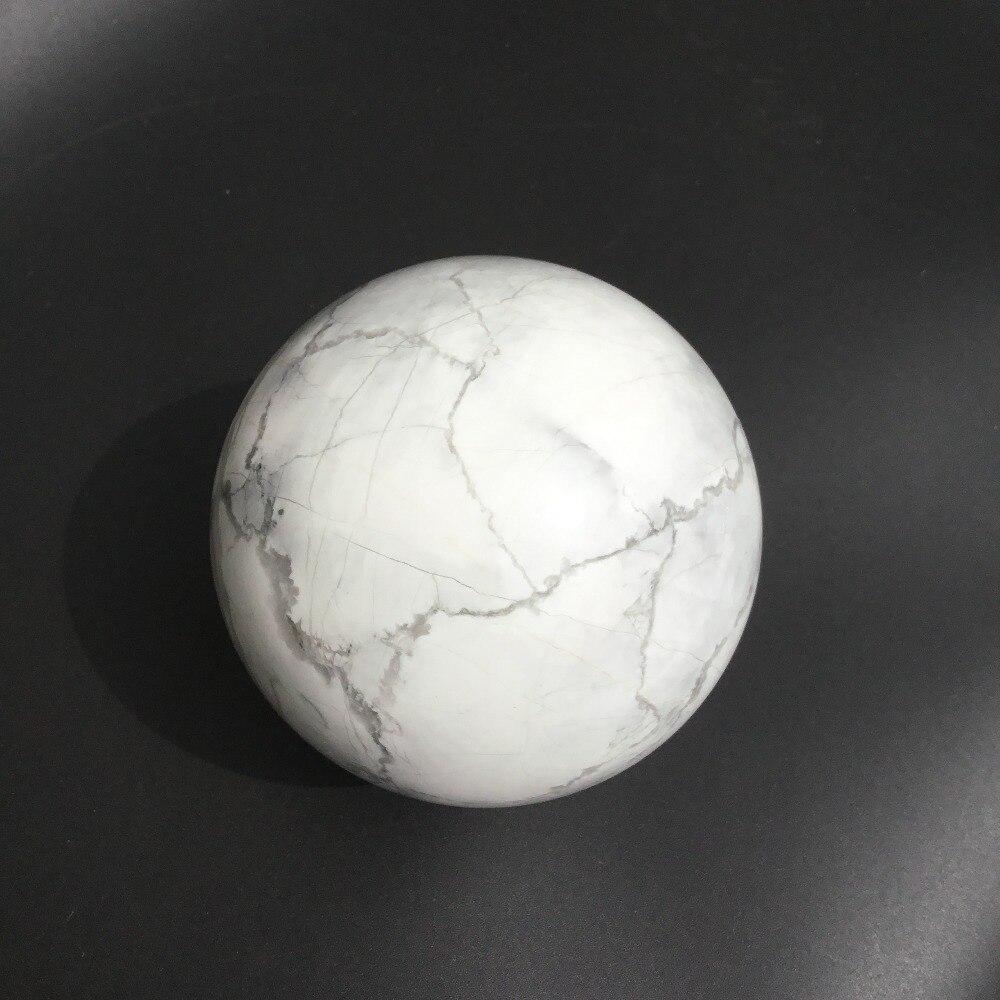 Natural white turquoise stone balls howlite stone spheres for decorationNatural white turquoise stone balls howlite stone spheres for decoration