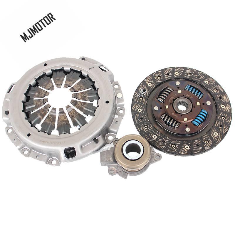 3 pièces/kit plaque de pression d'embrayage/disque d'embrayage/palier de déverrouillage pour Suzuki SX4 1.6L 1.8L moteur Auto pièce de moteur de voiture