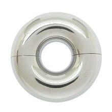 12x12 MM หนาไทเทเนียมเจาะแหวนอวัยวะเพศชาย GLANS เครื่องประดับเจาะ