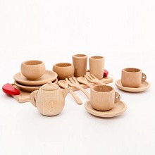Wooden Montessori Toy Cutlery Set