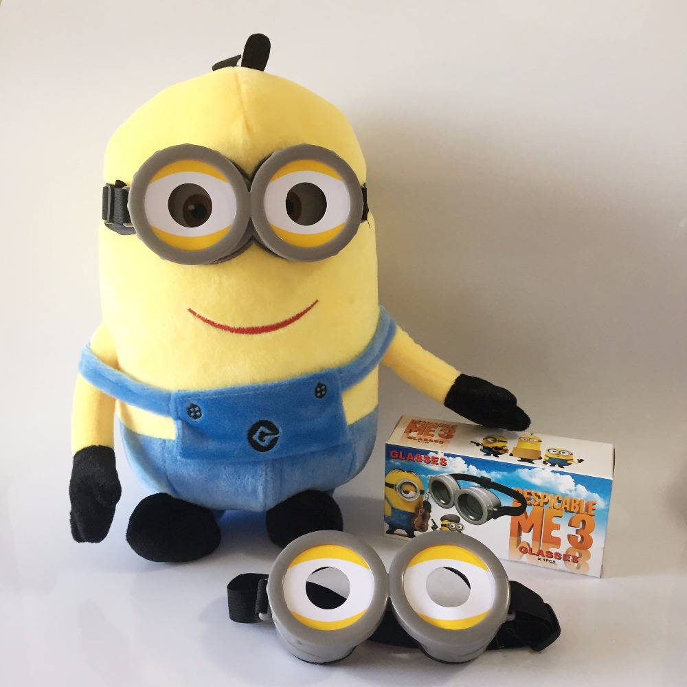 minions party supplies Glasses birthday Festivals cosplay costume 3D Eye Mask Goggles For Children Favors Party