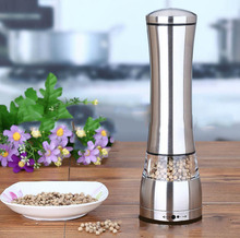 Stainless Steel Manual Pepper Salt Spice Cumin Mill Grinder Kitchen Cooking Tool BBQ