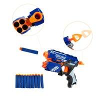 2017 New Toy Gun With 10 Darts Sniper Rifle Plastic Gun Electric Gun Toy Elite Toy