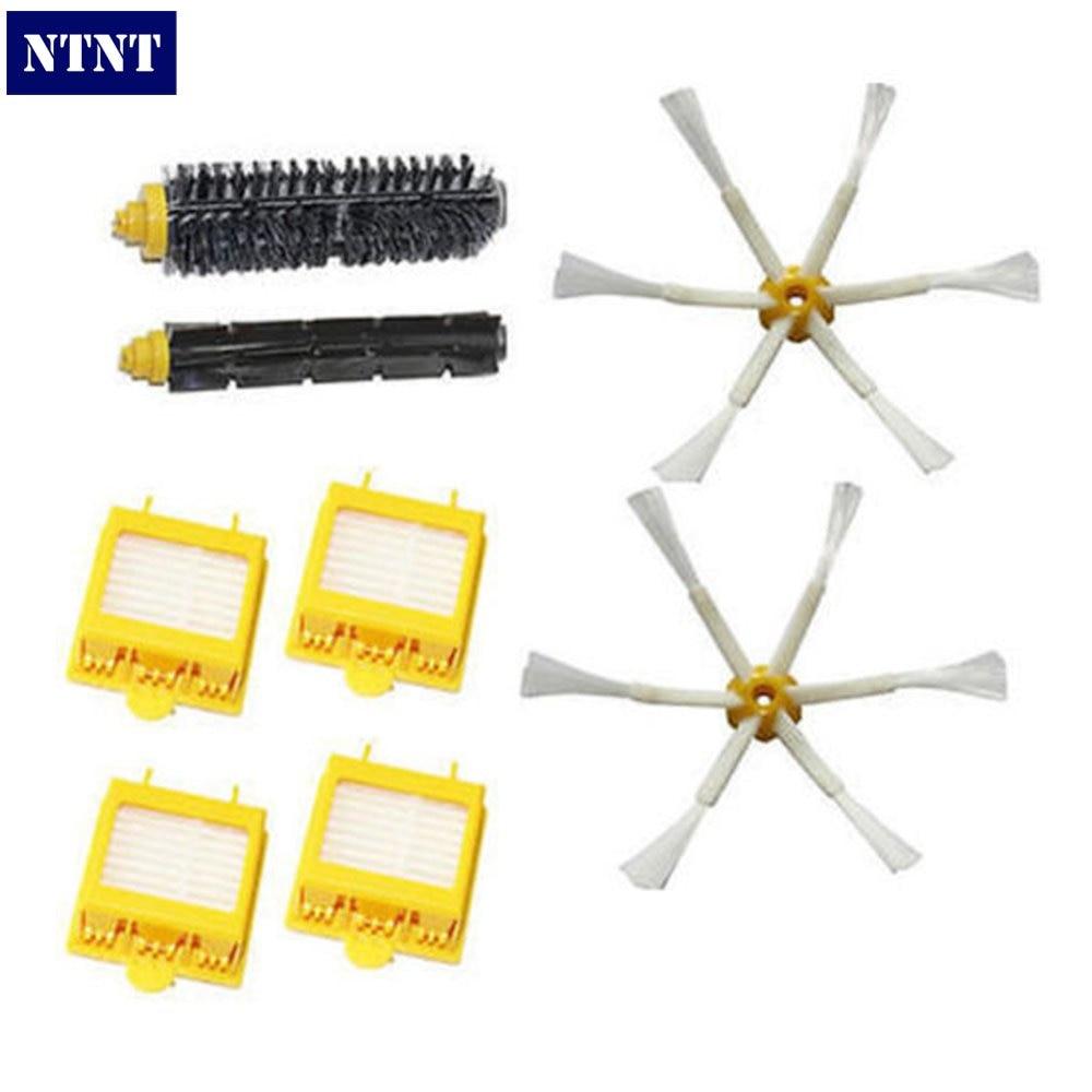 NTNT Free Post 4X Filter & 6-armed Side Brush Kit For iRobot Roomba 700 Series 760 770 780 цыпленок в соусе molina