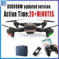 Нмиц 809 мини Квадрокоптер карман Дроны с камерой HD Маленький Wi Fi шахты RC самолет Квадрокоптер race Вертолет FPV racing Дрон игрушки