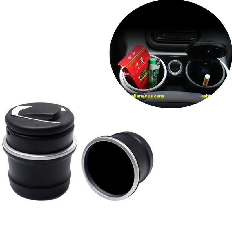 Portable Auto Car LED Cigarette Smoke Car Ashtray Storage Cup For Lada Priora Sedan Sport Kalina Granta Vesta X-Ray XRay