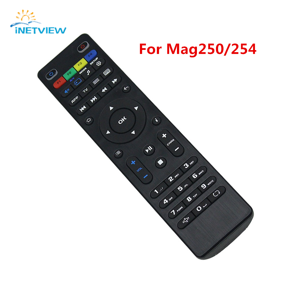 10pcs Remote Control For Mag 254 Replacement Remote Control For Mag254 MAG250 Linux System tv box