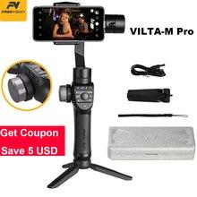Freevision Vilta-M Pro 3-осевой Карманный шарнирный стабилизатор для смартфона стабилизатор для huawei P30 Pro IPhone X XS samsung экшн-камеры Gopro 5/6/7