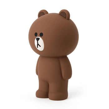 Kawaii Korean Stationery Cartoon Silica Gel Pencil Case Bag Cute Bunny Cony 3D Pencilcase Gifts For Girl Boy Kids