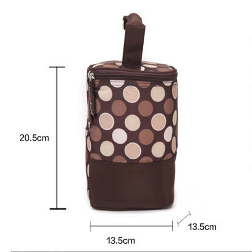 Insulation Bags Bottle Feeding baby thermal bag infant zipper food stroller children handbag thermos Milk keep warm case warmer