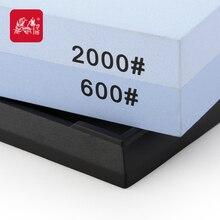 Grinder haushaltsdoppelseitigen schleifstein t6260w professionelle messerschärfer 2000/600 grit-schleifscheibe stein taidea produktion