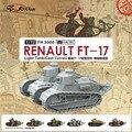 1: 72 Proporción Francés FT-17 tanque torreta fundido tipo De Montaje modelo Juguetes