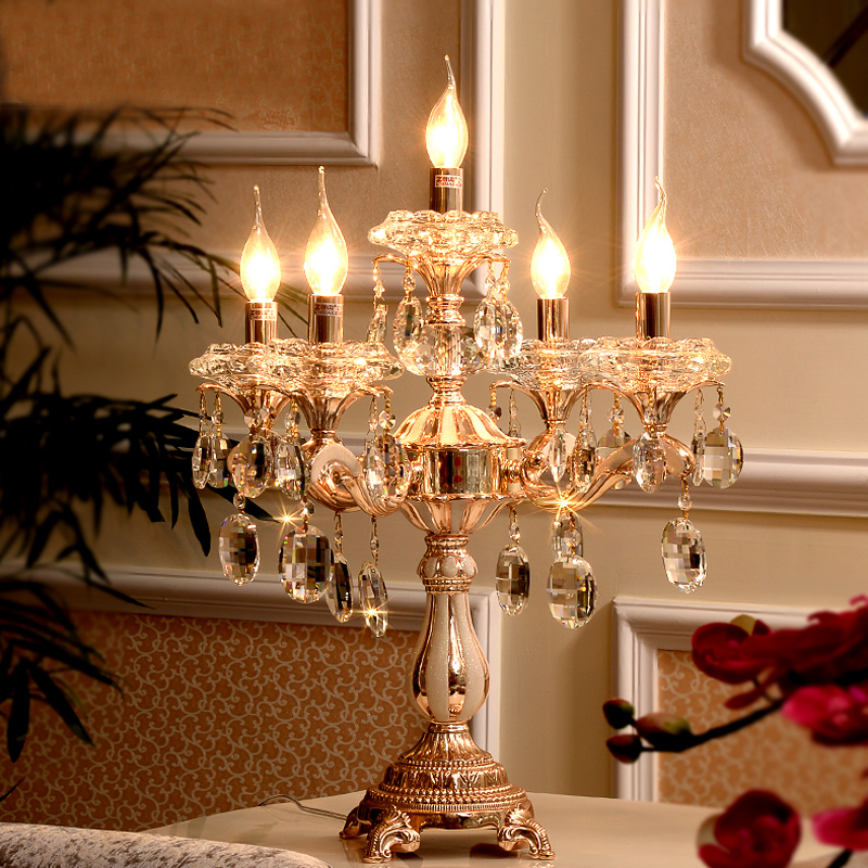 Led Table Lamp Modern Christmas Table Decoration Lamp Shades For Table Lamps  Candelabrum Crystal Table Lights