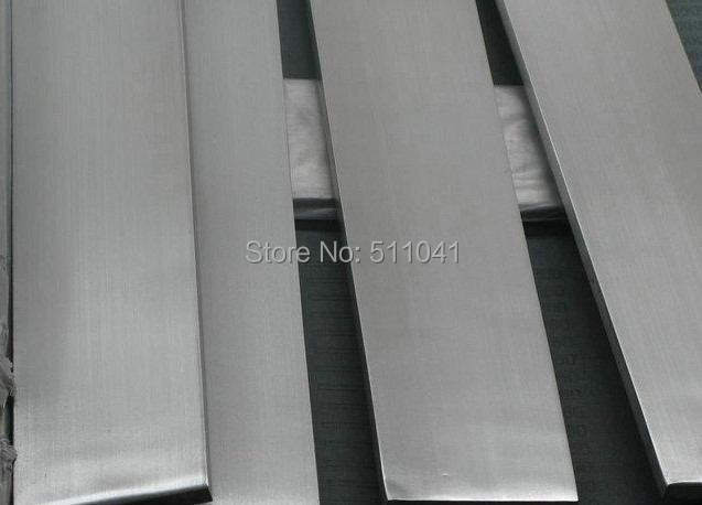 ASTM B348 Titanium Grade 2  Flat Bar   12.7mm x 6.35mm , Paypal is available 6pcs titanium gr2 auto exhaust pipe grade 2 exhaust emission titanium tube size 70 8 500 mm paypal is available