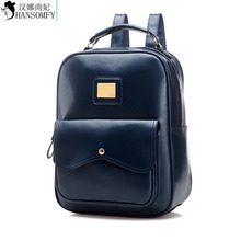 Backpack Female College Summer Korean Wind Can Be On Behalf Of The Large Capacity Backpack Leather Female Bag Wholesale