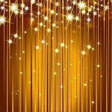 Bling Do ouro Ouro Brilhante Luz estúdio de fotografia de Vinil pano de fundo pano Computer impresso parede de Alta qualidade fundo