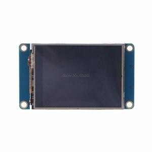"""Image 5 - Lâmpada inteligente de 2.4 """"uart, módulo de lâmpada inteligente com tela sensível ao toque hmi 320x240, display lcd tft, dropship"""