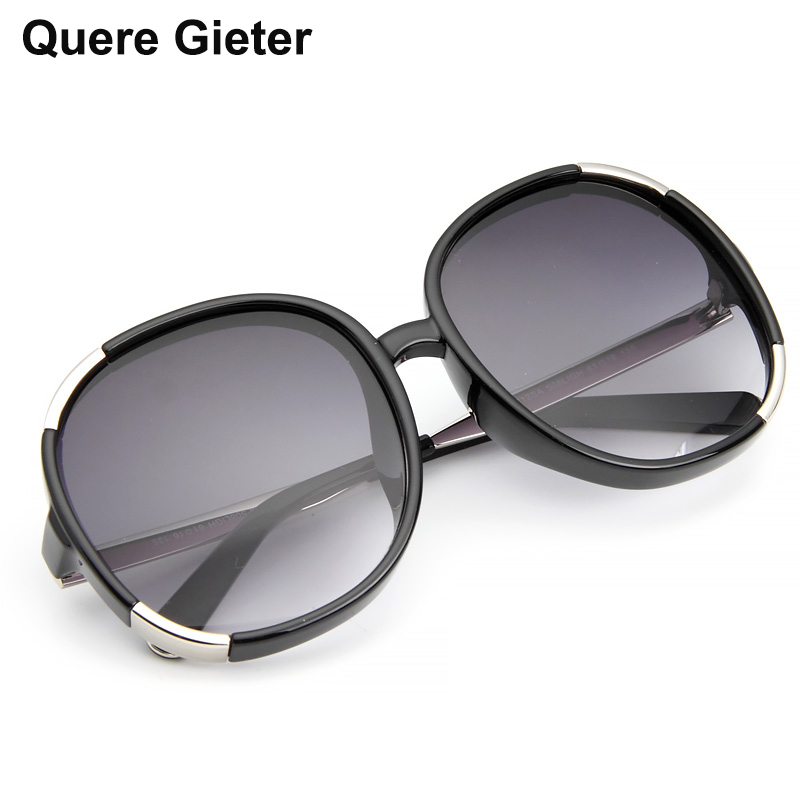 Qure Gieter High Quality Round Acetate Fashion Sunglasses for Women anti UVA UVB Protection Ladies Eyes with Italy Designer