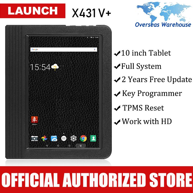 Launch X431 V+ Auto Diagnostic Scanner Car Diagnostic Tool Full System Automotive Autoscanner Scanner Tablet PK X 431 V Pad